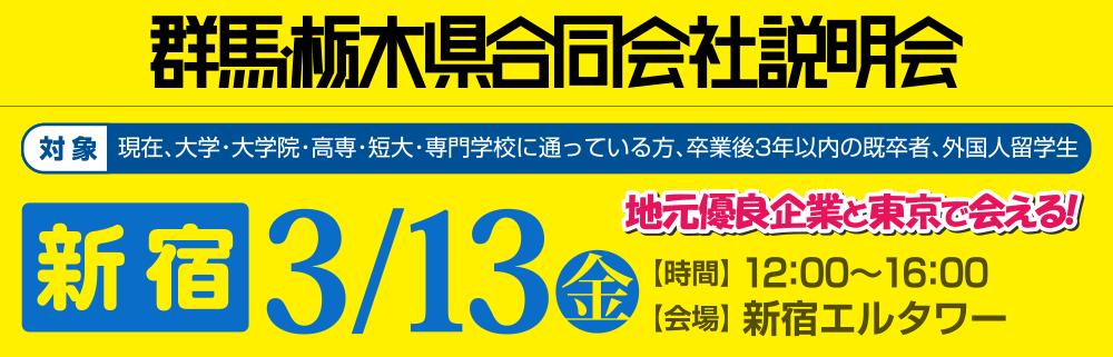 群馬・栃木県合同会社説明会 就活応援ナビ