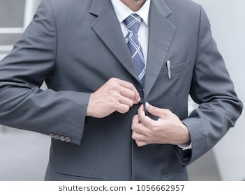 Employees put on suit go 260nw 1056662957