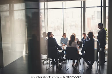 Business people working conference room 260nw 678225592