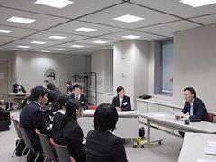 模擬面接講座(公務員志望者向け) 東京しごとセンター