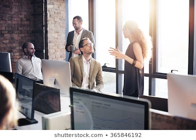Business communication connection working concept 260nw 365846192